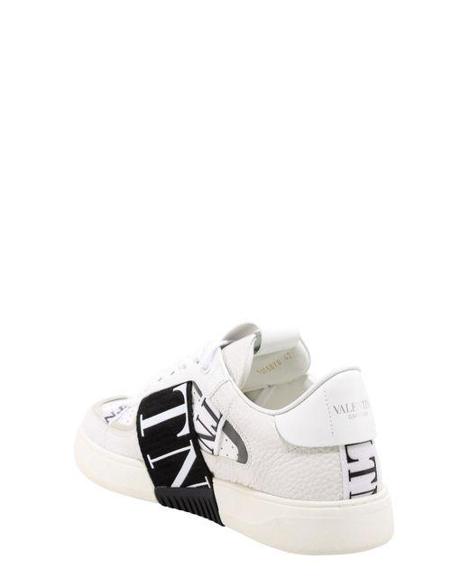 Valentino Garavani White Valentino Garavani Vltn Tape Low-top Sneakers for men
