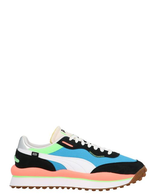 PUMA Blue Style Rider Play On Sneakers for men