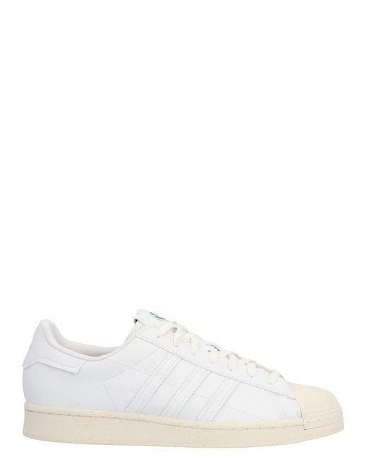 Adidas Originals White Superstar Low-top Sneakers