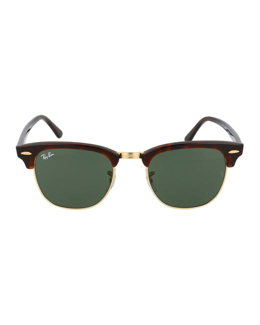 Ray-Ban Brown Clubmaster Sunglasses