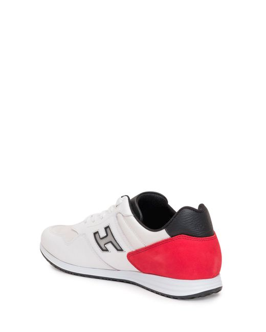 Hogan White H205 Olympia Low-top Sneakers for men