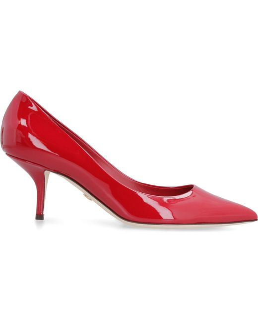 Dolce & Gabbana Red Pointed Toe Pumps