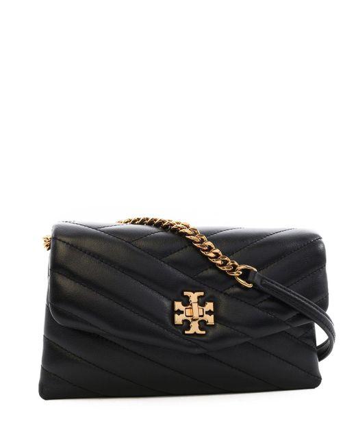 Tory Burch Black Kira Chain Crossbody Bag
