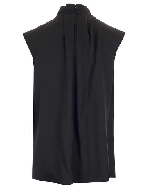 Alexander McQueen Black Sleeveless Top