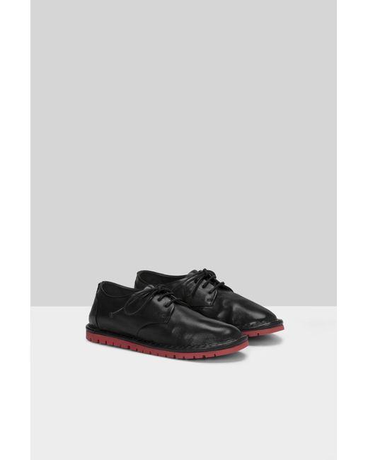 Marsèll Black Sancrispa Derby Shoes
