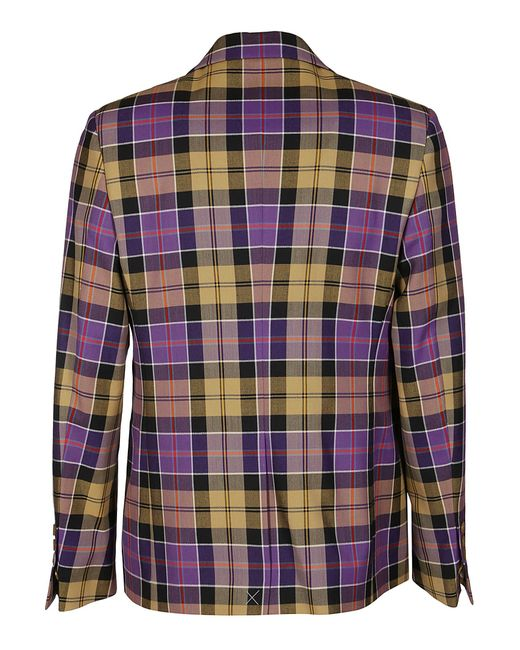 Vivienne Westwood Purple Vivienne Westswood Single-breasted Tailored Blazer for men