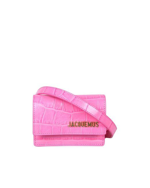 Jacquemus Pink La Ceinture Bello Belt Bag
