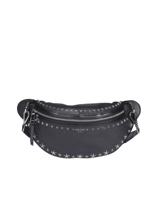 Jimmy Choo Black York Belt Bag for men