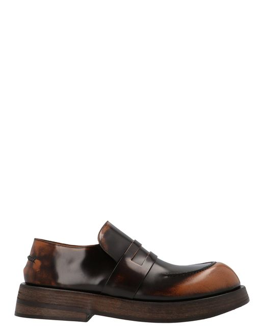 Marsèll Brown Musona Loafers for men