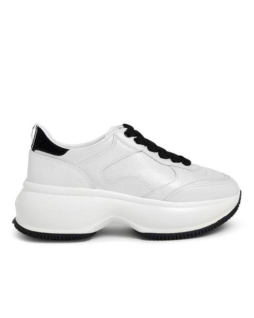 Hogan White Maxi Active Sneakers