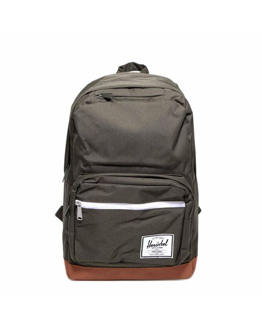 Herschel Supply Co. Green Pop Quiz Logo Patch Backpack for men