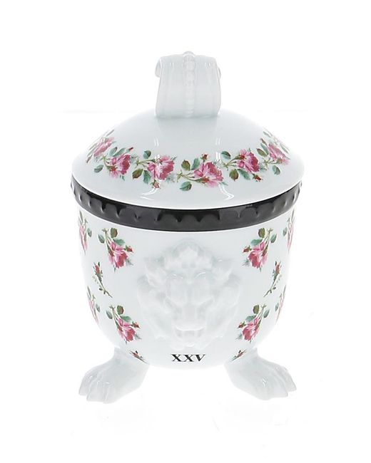 Gucci Multicolor Mehen Rose Printed Lion Candle