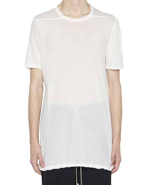327febb9a Rick Owens Level T-shirt in White for Men - Lyst