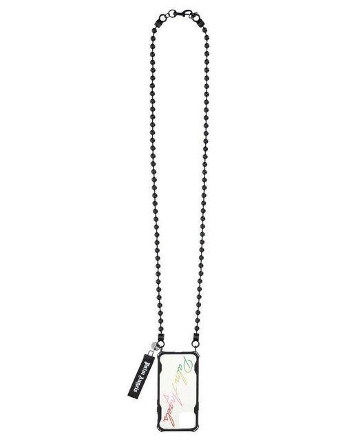 Palm Angels Multicolor Chain Strap Iphone 12 Pro Case for men