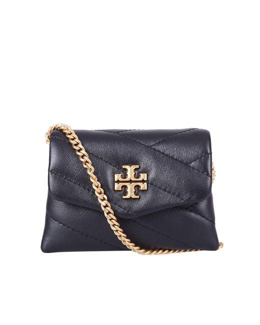 Tory Burch Black Quilted Mini Shoulder Bag