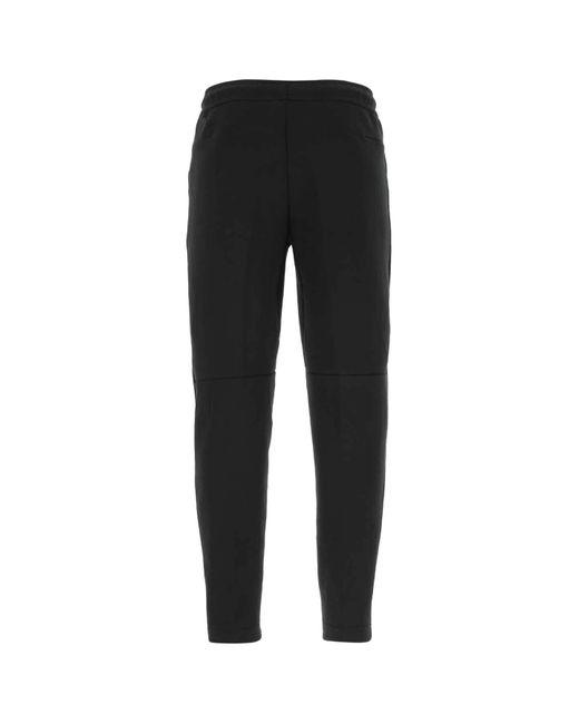 Nike Black Cotton Blend joggers Nd Uomo for men