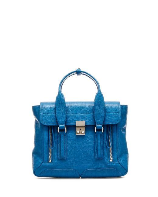 3.1 Phillip Lim Blue Pashli Satchel Handbag