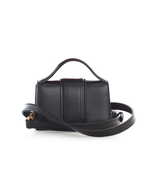 Jacquemus Black Le Bambino Leather Top Handle Bag