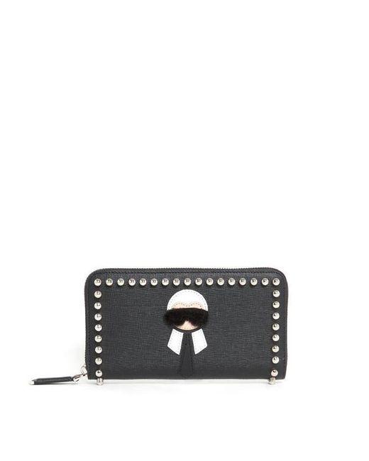 Fendi - Black Karlito Wallet Karlito Wallet - Lyst