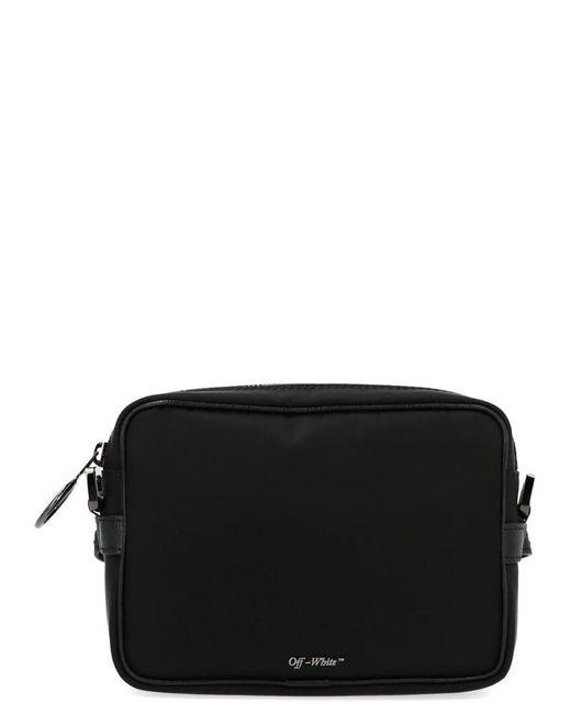 Off-White c/o Virgil Abloh Black Logo Crossbody Bag for men
