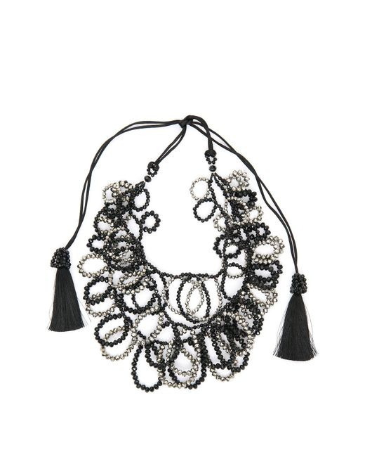 Night Market - Multicolor Circle Chain Necklace - Lyst