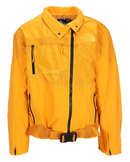 THE NORTH FACE BLACK SERIES Yellow Steep Tech Jacket for men