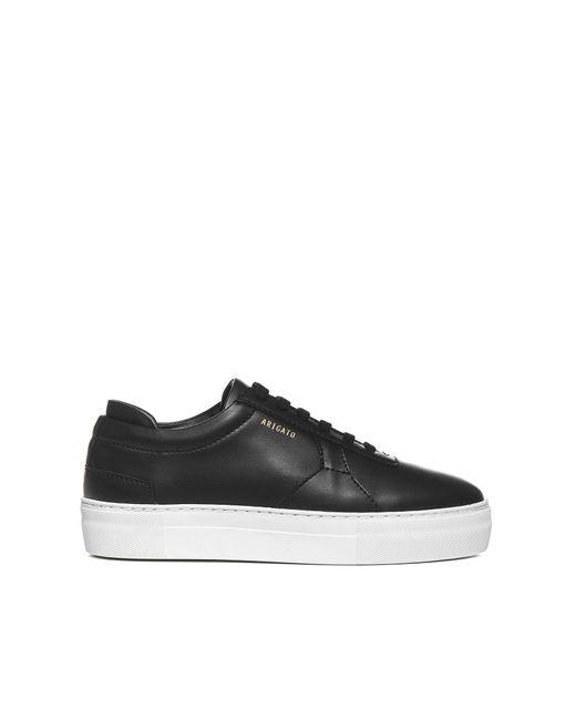 Axel Arigato Black Platform Sneakers