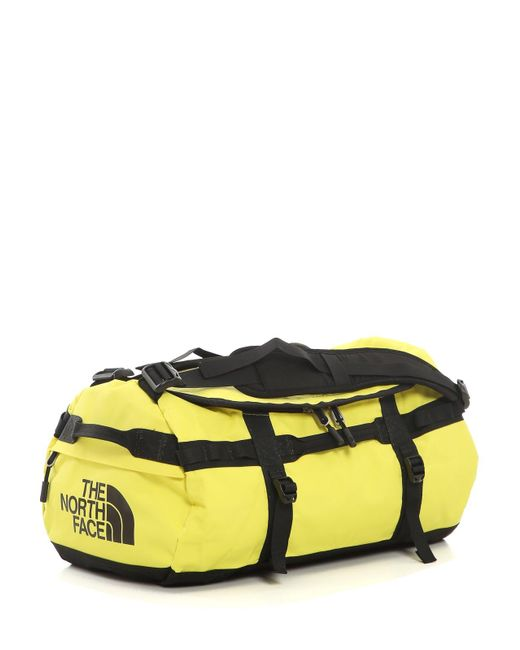 The North Face Yellow Base Camp Duffel Small Backpack for men