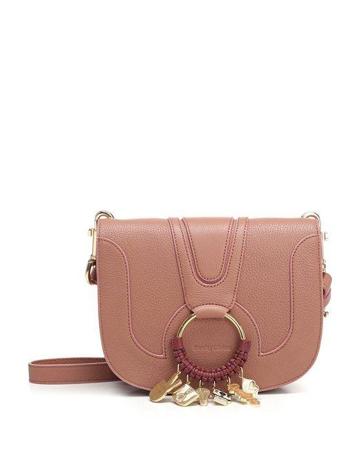 See By Chloé - Pink Hana Small Crossbody Bag - Lyst
