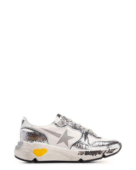 Golden Goose Deluxe Brand Multicolor Running Sole Sneakers