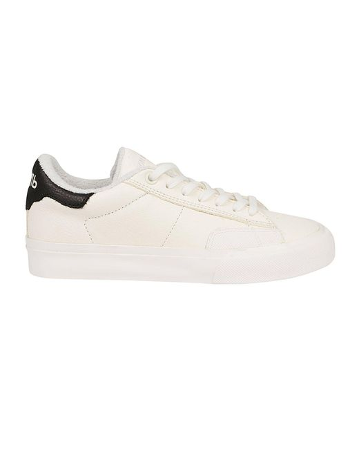 Heron Preston Women's Hwia021r21lea0010110 White Leather Sneakers