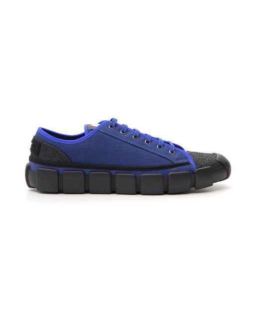 Moncler Genius Blue Moncler X Craig Green Bradley Sneakers for men