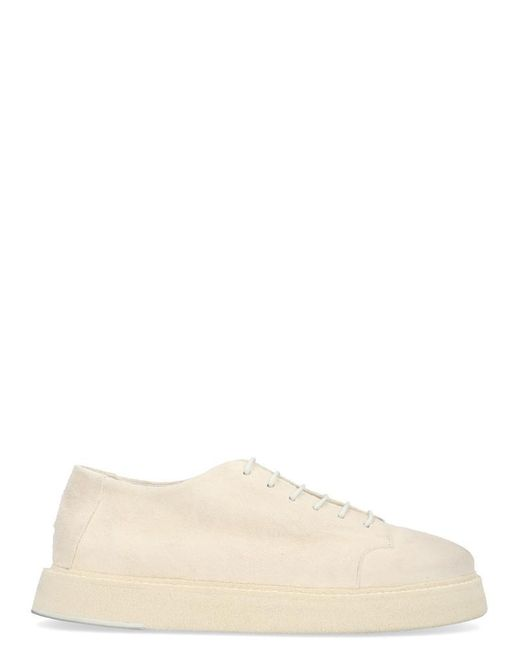 Marsèll White New Sole Lace-up Shoes for men