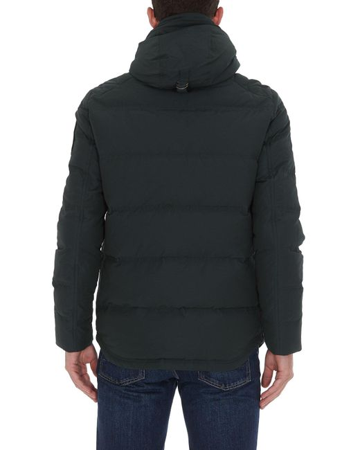 Moose Knuckles Blue Padded Jacket for men
