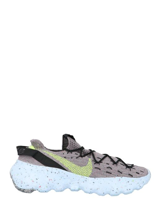 Nike Gray Space Hippie 04 Low-top Sneakers for men
