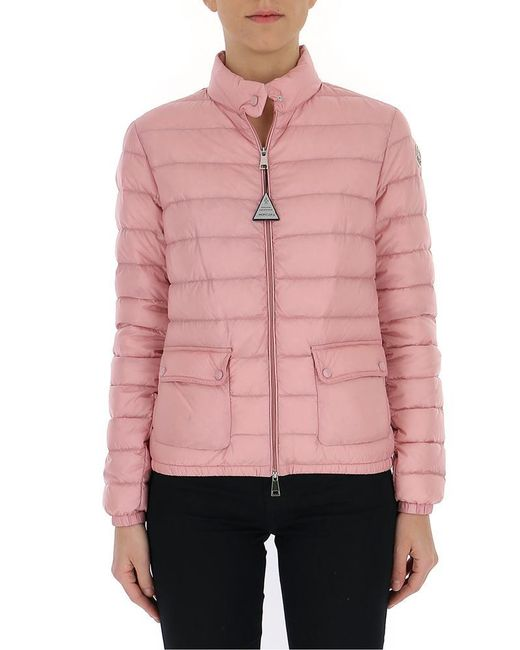 bf226eebe4ac Lyst - Moncler Lans Padded Jacket in Pink