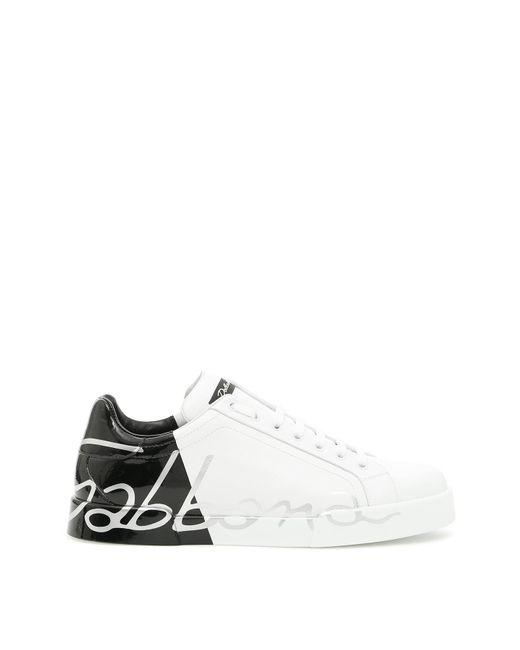 Dolce & Gabbana - White Portofino Sneakers - Lyst
