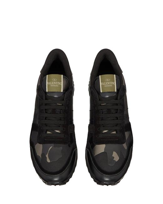 Mesh Camouflage Rockrunner Trainers