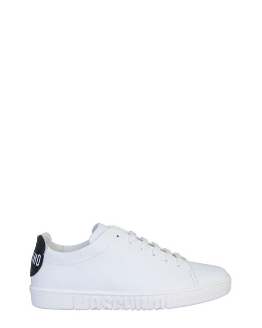 Moschino Multicolor Teddy Patch Sneakers