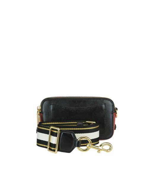 Marc Jacobs Black The Snapshot Small Camera Bag