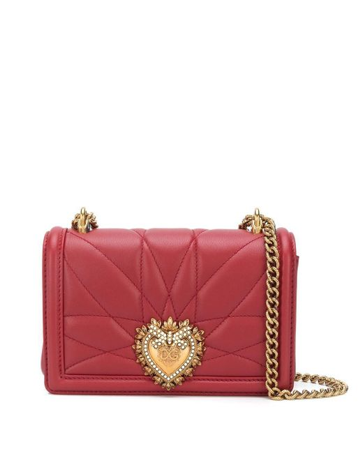 Dolce & Gabbana Red Devotion Small Crossbody Bag