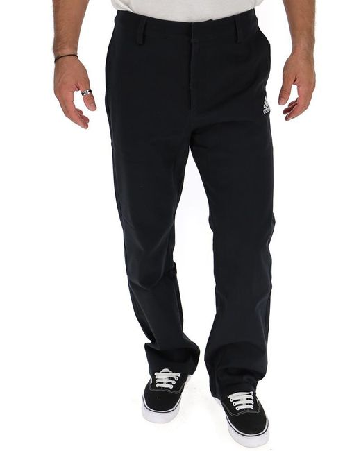 Gosha Rubchinskiy Black X Adidas Coach Pants for men