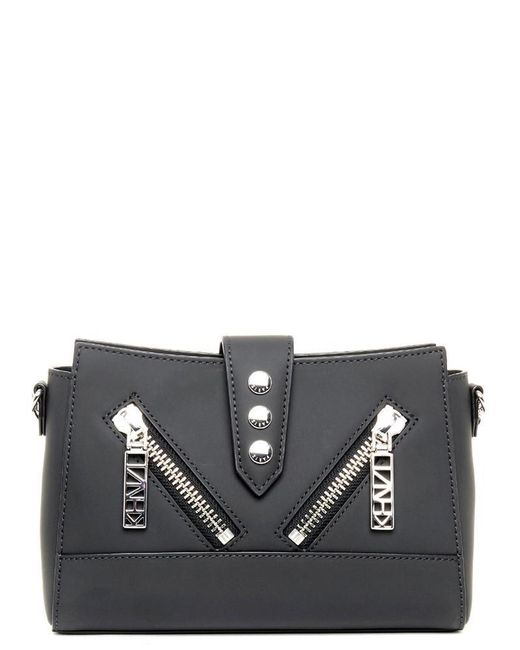 KENZO - Black Kalifornia Shoulder Bag - Lyst