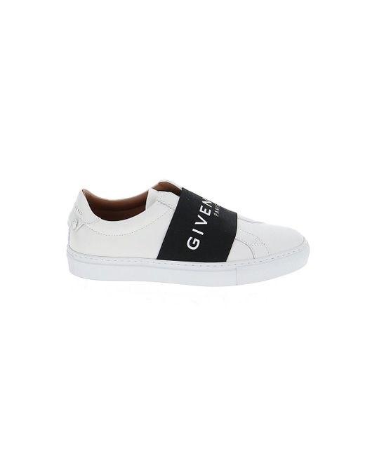 Black Knot Elastic Leather Trainers