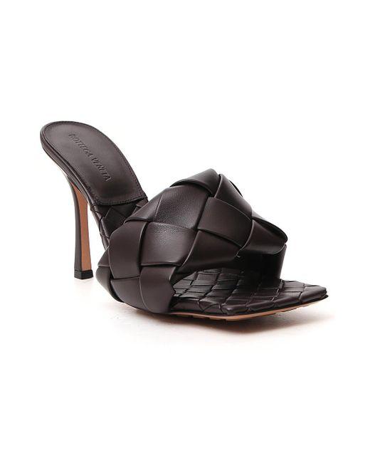 Bottega Veneta Bv Lido Intrecciato Woven Leather Mules - Lyst