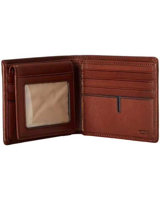 Tumi | Brown Chambers Global Removable Passcase Id Wallet for Men | Lyst
