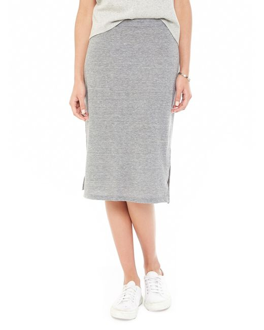 Alternative Apparel | Gray Triple Dare Eco-jersey Skirt | Lyst
