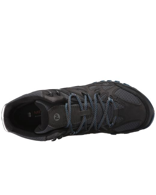 Merrell All Out Blaze Vent Mid Waterproof In Gray For Men