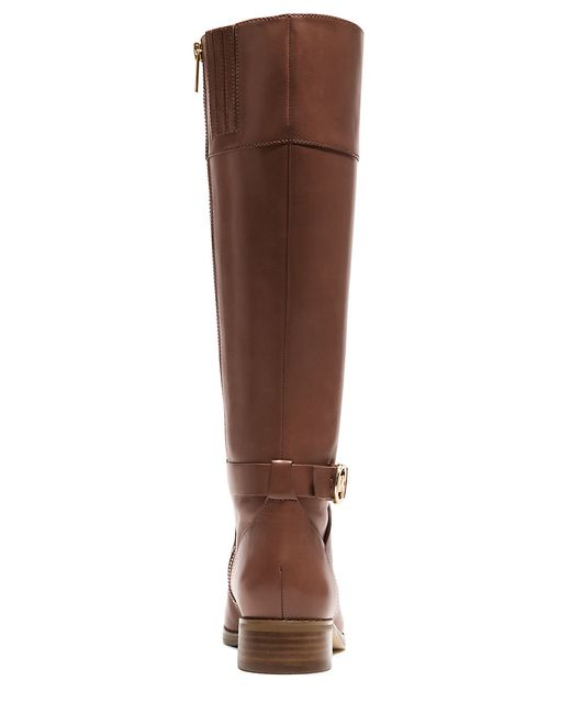 MICHAEL Michael Kors | Brown Bryce Mid-calf Leather Boots | Lyst