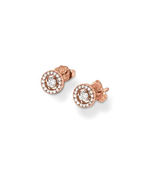 Thomas Sabo | Pink Glam And Soul Stud Earring | Lyst